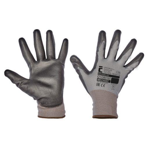 cerva brambling touch munkavédelmi kesztyű fekete (12pár/cs)