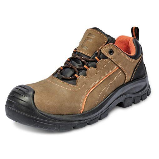 cerva derril munkavédelmi cipő mf s3 src barna