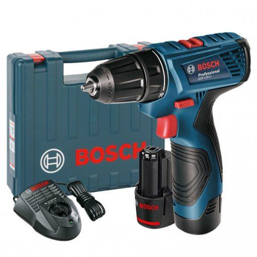 Bosch GSR 120-LI akkus fúrócsavarozó 12V 2x1,5Ah