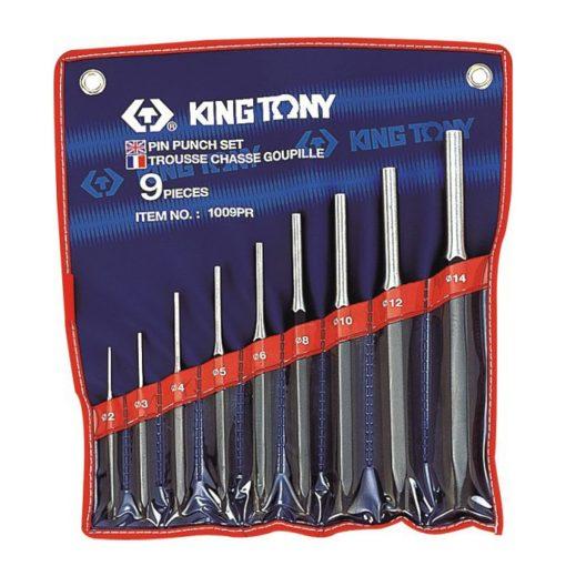 king tony 9 részes csapkiütő készlet 2-14mm (1009PR)