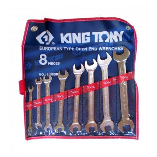 king tony 8 részes villáskulcs készlet (1108SR)