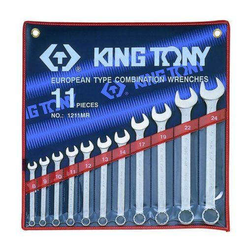 king tony 11 részes csillag-villáskulcs készlet 8-24mm (1211MR)