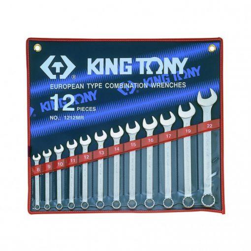 king tony 12 részes csillag-villáskulcs készlet 8-22mm (1212MR)