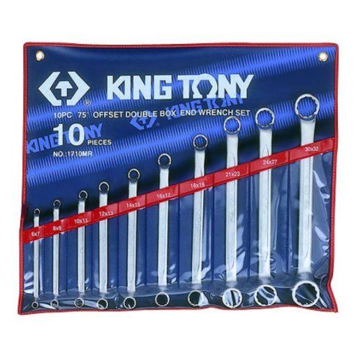 king tony 10 részes csillagkulcs készlet 6-32mm (1710MR)