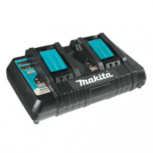 Makita DC18RD Li-ion LXT akkumulátor töltő 2 portos 14,4-18V