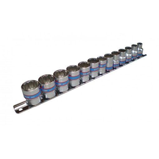 """king tony 13 részes kézi dugókulcs készlet 3/8"""" 12x7-19mm (3013MR)"""