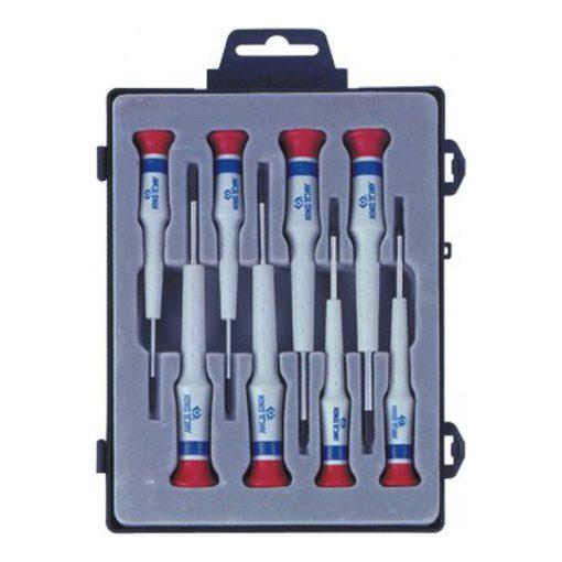 king tony 8 részes műszerész csavarhúzó készlet (32108MR)