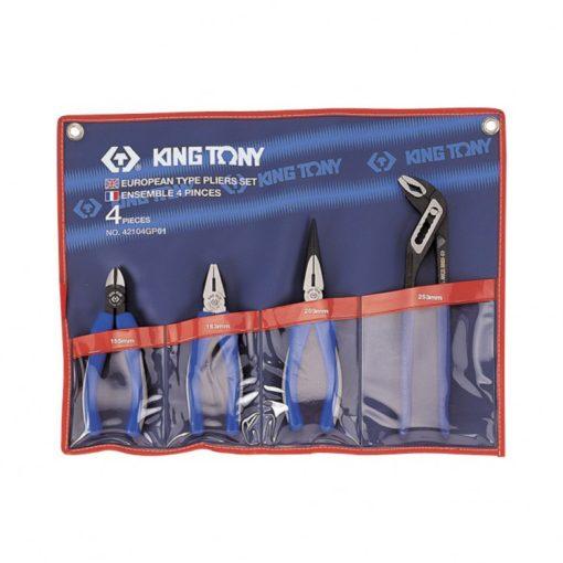 king tony 4 részes fogókészlet (42104GP01)