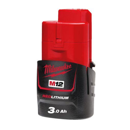 Milwaukee M12 B3 akkumulátor 12V Li-ion 3,0Ah