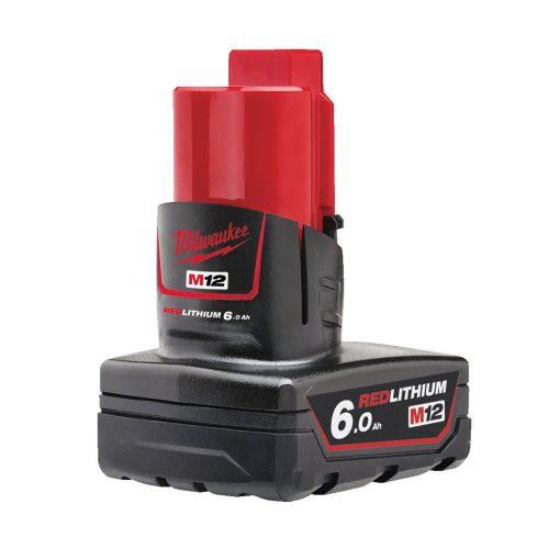Milwaukee M12 B6 akkumulátor 12V Li-Ion 6,0Ah
