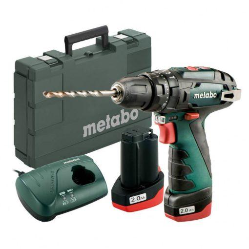 Metabo SB PowerMaxx akkus ütvefúró-csavarozó 10,8V 2x2,0Ah