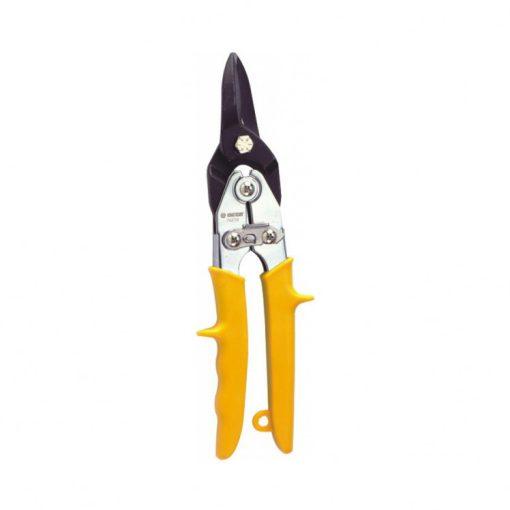 king tony lemezvágó olló egyenes (sárga) 260mm (74270)