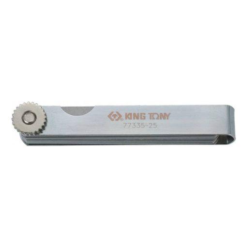 king tony hézagmérő 25 pengés 0,04-1mm (77335-25)