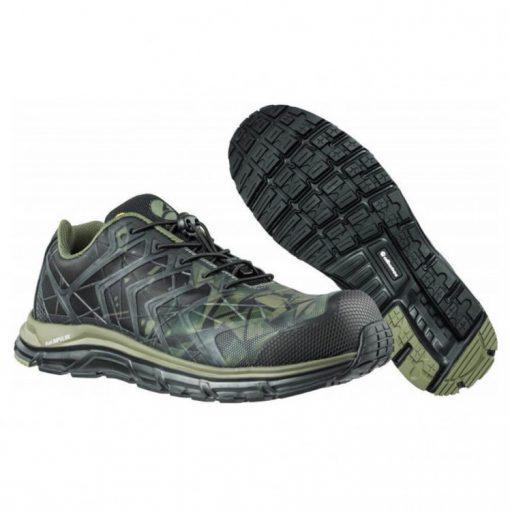 albatros energy impulse olive low munkavédelmi cipő terepmintás s1