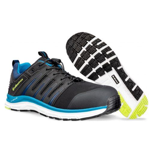 albatros breeze impulse low munkavédelmi cipő fekete/kék s1p esd hro sra