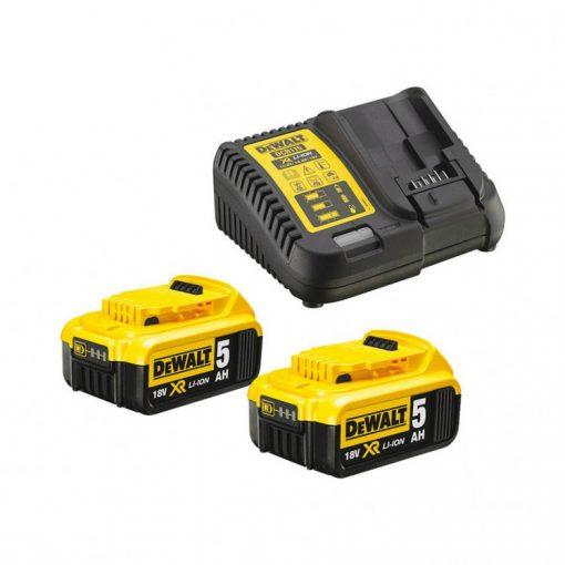Dewalt DCB115P2-QW akkumulátor csomag 18V 2x5,0Ah