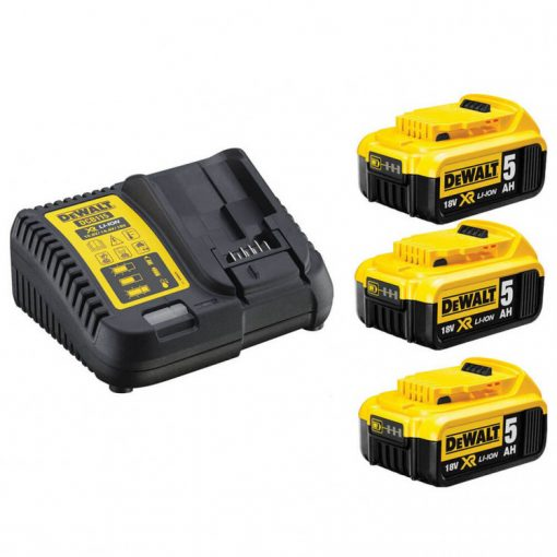 Dewalt DCB115P3-QW akkumulátor csomag 10,8-18V XR 3x5,0Ah