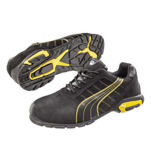 puma amsterdam low munkavédelmi cipő fekete s3 src