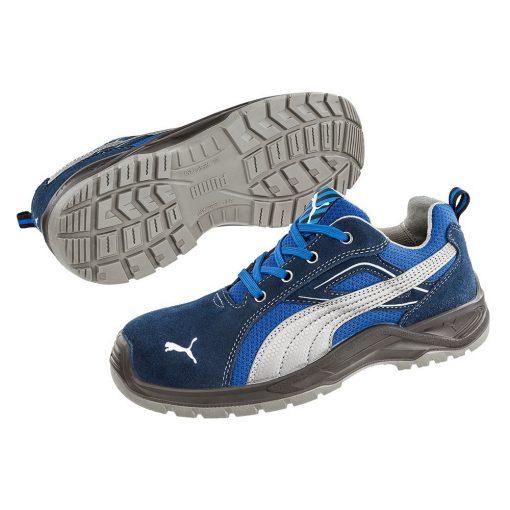 puma omni sky low munkavédelmi cipő kék/szürke s1p src