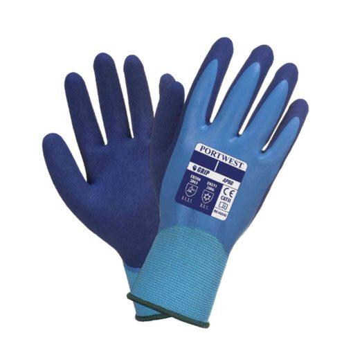 portwest ap80 liquid pro kesztyű kék
