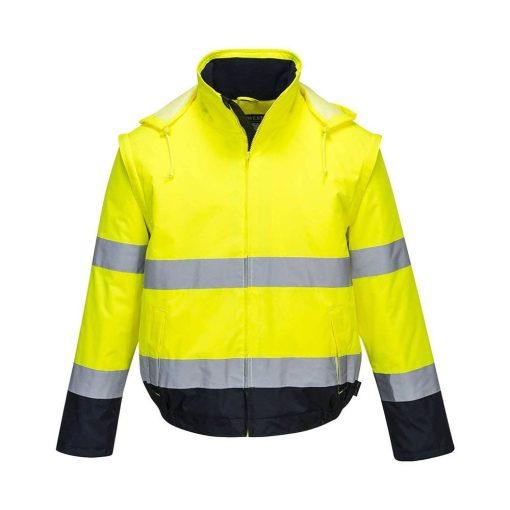 portwest c464 essential 2 az 1-ben kabát sárga