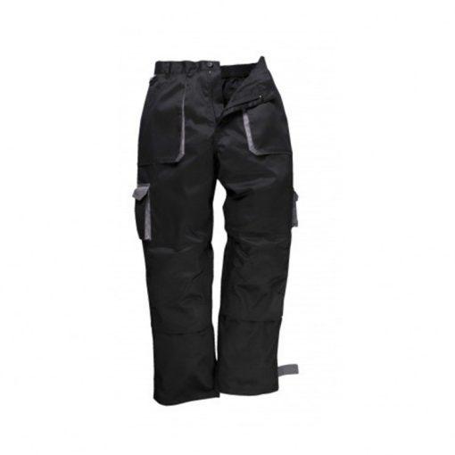portwest tx11 texo munkavédelmi nadrág fekete/szürke