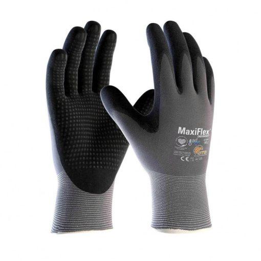 atg maxiflex endurance munkavédelmi kesztyű ad-apt fekete/szürke